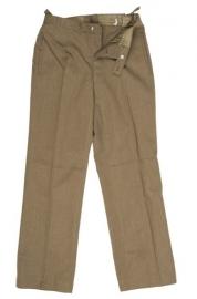 Bruine uitgaans uniform broek - WO2 US model class A - maat 44 (=XS), 47 of 50 - origineel