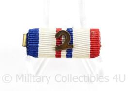 Nederlandse medaille baton met 1 medaille - VN- Vredesoperatie Bosnië - 3 x 1,5 cm - origineel