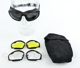 Nederlandse leger ESS Eye Pro V12 tactische bril met luxe opbergtas -  gebruikt - origineel