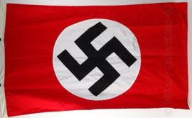 Partijvlag NSDAP - 150 x 90 cm. 3 delig katoen, gestikte delen - topkwaliteit!
