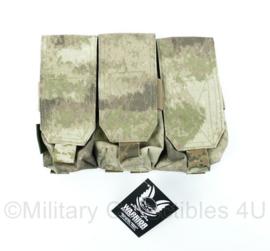 Nederlands leger Warrior Assault Systems Triple Magazine pouch magazijntas - FG camo - nieuw met kaartje eraan!
