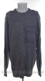 Wollen trui grijs - maat 58/60 (XL)  - origineel