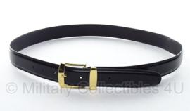 KL en KMAR DT broekriem 145 cm - zwart met gouden gesp - nieuw in verpakking - origineel