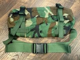 US Army Mwoodland Heupgordel Molle II Waist Pack Butt Pack - origineel