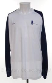 KL Defensie sport shirt lange mouw - merk Li-ning - NIEUW - maat Large - origineel