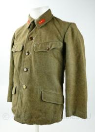 Japanse WO2 replica winter versie Infanterie uniformjas - maat L - Soldaat 1e klasse -  mist 1 knoop