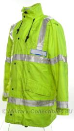 Britse politie parka geel reflecterend - zonder opdruk - Large/Reg - origineel
