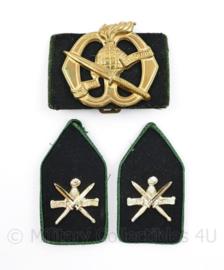 KCT Korps Commandotroepen DT baret- en kraaginsigne set - origineel