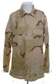 US Army desert camo uniform jas - Zonder (sporen van) insignes - maat Medium/Long - origineel