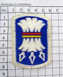 US 157th Infantry Brigade Class A Patch - cut edge - 5 x 8 cm - origineel