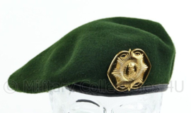 KL Nederlandse leger tussen model baret met Van Heutsz insigne - maker Hassing BV - licht gedragen - maat 59 - origineel