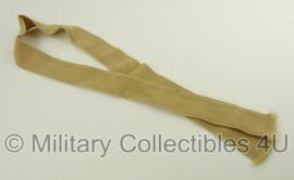 KL Nederlandse leger en KMAR Marechaussee vintage stropdas - khaki - origineel