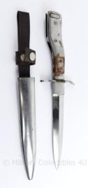 Replica Wo1 en Wo2 Duitse Stiefelmesser en bajonet in 1 - 27,5 cm  - REPLICA