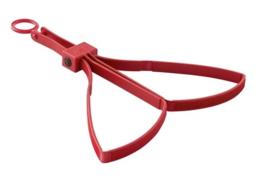 6 stuks Defensie rode oefen handboeien merk ASP Tri-fold handcuff - Tri-Fold Restraints, Training - origineel