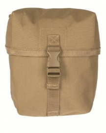 Koppeltas multi purpose Medium - Molle draagsysteem - 16 x 9 x 18  cm - Coyote