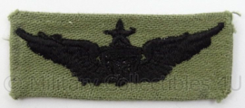 US Army of USAF US Air Force BDU borst wing - afmeting 6,5 x 3 cm - Origineel