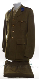 KL Nederlandse leger DT uniform SET vroeg model Luitenant-Kolonel - Cavalerie - maat Large - origineel