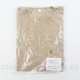 Korps Mariniers T-shirt zandkleurig - nieuw in verpakking - maat Large - origineel