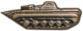 Metalen uniform speld - Tank - per set - origineel