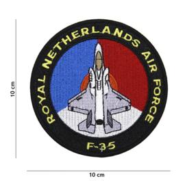 F-35 Lightning II Royal Netherlands Airforce embleem - zwart
