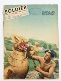 The British Army Magazine Soldier VOL 6 No 9 -  Afkomstig uit de Nederlandse MVO bibliotheek - 30 x 22 cm - origineel
