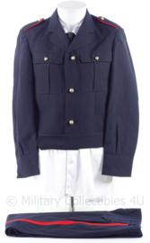 """KM Koninklijke Marine, Korps Mariniers jaren 60 en 70 """"battledress"""" uniform jas en broek - maat 47 3/4 - origineel"""