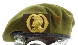 KL Landmacht baret met Genie insigne - maat 61 - 1981 - origineel