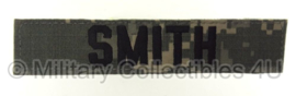 """Smith"" ACU camo branch tape/naamlint met klittenband"