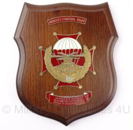 Pools leger wandbord - 16,5 x 19,5 cm - origineel