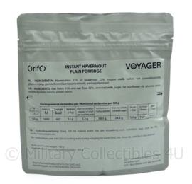 Orifo ontbijt rantsoen Instant Havermout Plain Porridge - 100 / 350 gram 402 kcal - t.h.t. juni 2024