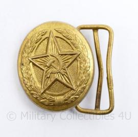 Russisch USSR officiers koppelslot  - 5,5 x  5,5 cm  - origineel