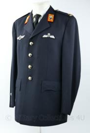 Defensie GLT Gala Tenue Garde Grenadiers met Nederlandse EN Duitse zilveren parawing (20 sprongen) - rang Majoor - maat 51 - origineel