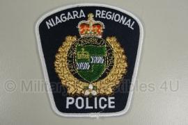 Niagara Regional Police Canada patch - witte rand origineel