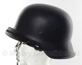 Duitse WO2 M42 helm - maat 64/57 - originele pot, replica liner