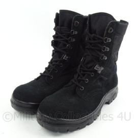 KMAR Marechaussee en Nederlandse Politie stoffen jungle boots - zwart - maat 235S = 37 Smal  - ongedragen - origineel