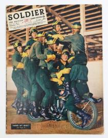 The British Army Magazine Soldier Vol.9 No 7 September 1953 -  Afkomstig uit de Nederlandse MVO bibliotheek - 30 x 22 cm - origineel