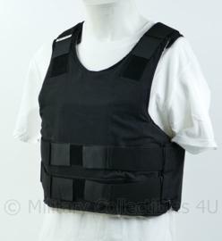 Kogelwerend vest zwart met extra Soft Traume insert maat 46/48 NIJ IIIA- origineel