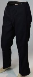 Duitse brandweer DDR NVA Feuerwehr uniform broek donkerblauw -  origineel