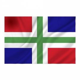Provincie vlag Groningen - Polyester -  1 x 1,5 meter
