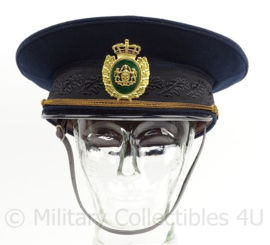 Deense Marine pet - blauw met witte overtrek - maat 18 - origineel