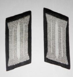 Soldaten manschap kraagspiegels infanterie - wo2 Duits model