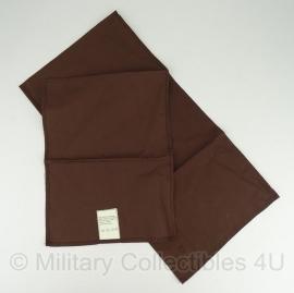KL leger sjaal bruin katoen - origineel