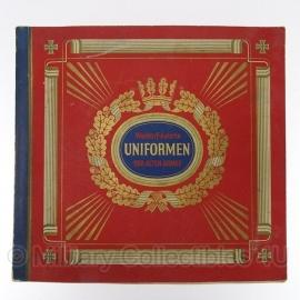 Zigarettenbilder Album - Waldorf-Astoria Uniformen der Alten Armee  - compleet