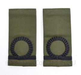 Korps Mariniers GVT epauletten - Adjudant der Mariniers  - 11  x 5 cm - origineel