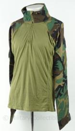 KM Marine Korps Mariniers US woodland forest camo Ubac shirt - maat XL - origineel Defensie