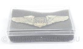 US Army Master Wing voor op de borst - Navigator/Aircraft Observer - naoorlogs - afmeting 8 x 4 cm - origineel