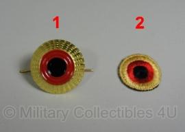 Pet kokarde metaal of stof - origineel