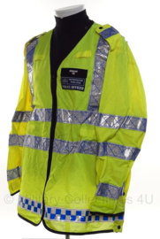Metropolitan Police geel reflectie dunne overjas - Sergeant Police Officer - size 112 reg - origineel