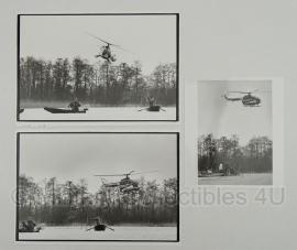 Set bestaande uit 3 foto's van de Korps Rijkspolitie  - orgineel