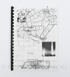 Korps Mariniers handboek V.V.O Den Helder  - origineel